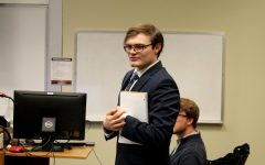 SGA executive board installs student senators, elects student senate officers and discusses hazing