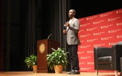 Chris Singleton talks faith, family and forgiveness during IUS visit